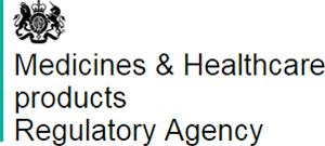 The Medicines and Healthcare Products Regulatory Agency logo